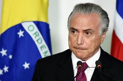 Lava Jato: Ex-presidente do Brasil Michel Temer detido