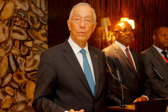 Marcelo assinala em Luanda dia de luto nacional pelas vítimas violência doméstica