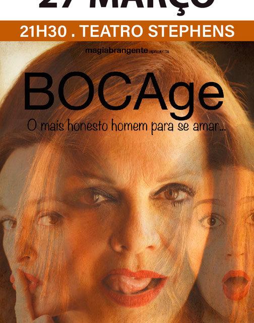 """""""Bocage, o mais Honesto Homem para se Amar"""" em palco no Teatro Stephens"""