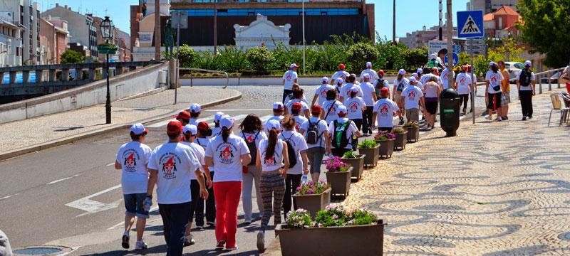 A ADASCA apresenta o vídeo sobre a III caminhada solidária.