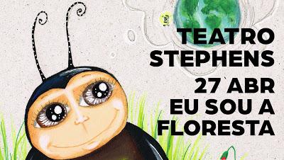 Eu Sou a Floresta | música e vídeo – sábado, 27 de abril na Casa da Cultura Teatro Stephens – Marinha Grande