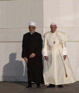 O que pensar da declaração do Papa em Abu Dhabi?