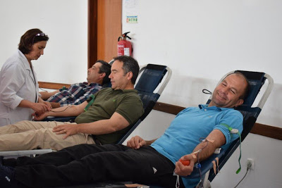 Fotorreportagem | Vale de Cavalos com duas dúzias de dadores de sangue
