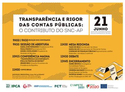 Barcelos | Transparência e rigor das contas públicas: o contributo do SNC-AP