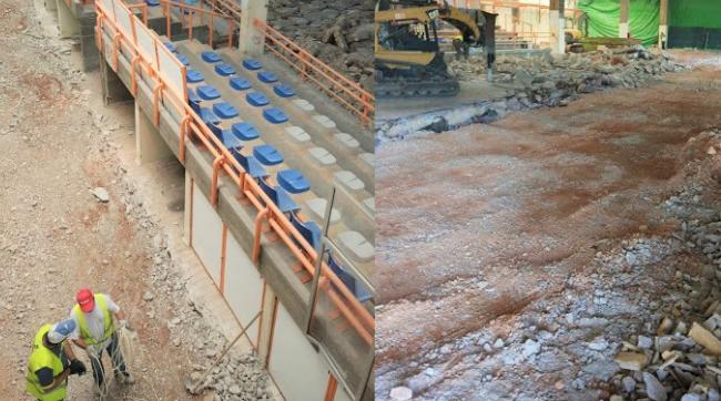 Olhão | avança com obras no porto de pesca de Olhão