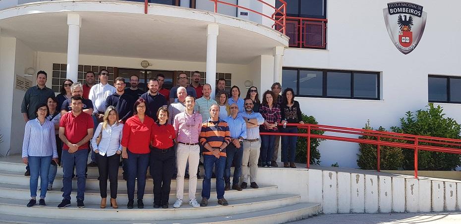 Gabinetes Técnicos Florestais da Região de Coimbra participam em formação destinada ao apoio no combate aos incêndios rurais