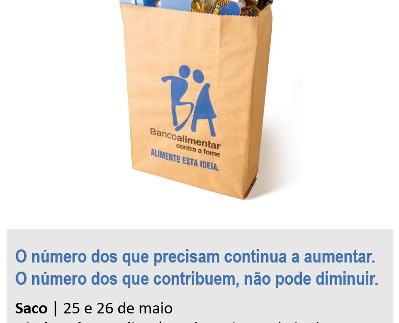 Nacional | O Banco Alimentar conta consigo! Contribua com alimentos online até 2 de junho
