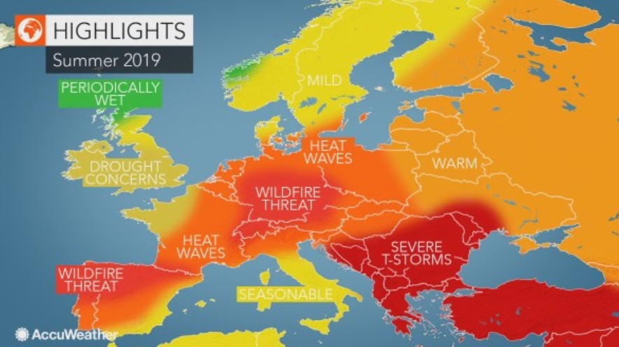 Verão vai ter ondas de calor prolongadas. Máximas de 43º durante vários dias