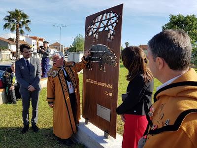 Monumento ao Leitão descerrado em Sangalhos
