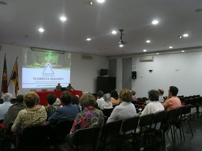 """No âmbito do projeto """"Tardes Comunitárias, Câmara de Cantanhede promove ação de sensibilização sobre limpeza de terrenos e uso do fogo"""