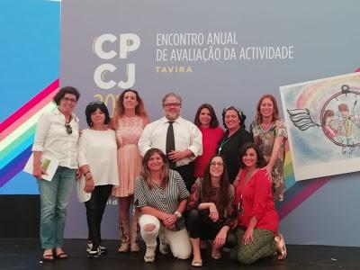 Em Tavira CPCJ de Cantanhede participa no Encontro Anual de Avaliação da Atividades das Comissões de Proteção de Crianças e Jovens