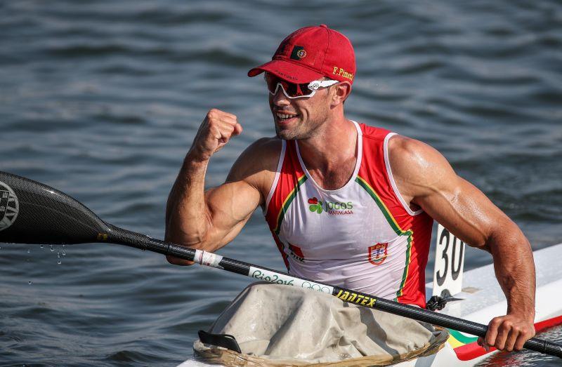 Canoagem: Fernando Pimenta conquista duas medalhas de ouro na Taça do Mundo
