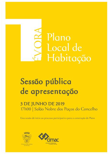 Évora | Sessão de apresentação do Plano Local de Habitação