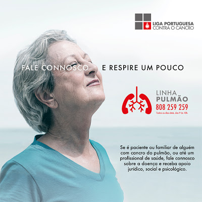 Saúde | Liga Portuguesa Contra o Cancro lança Linha Pulmão para apoiar doentes e cuidadores