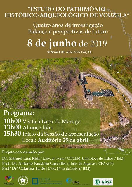Vouzela | Estudo decorre desde 2016, Resultados do Estudo do Património Histórico-Arqueológico de Vouzela são apresentados no dia 8 de junho