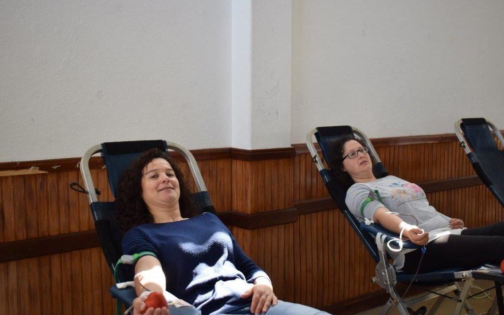 Três dezenas de dadores de sangue em Sousel