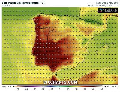 METEOROLOGIA | Onda de calor intenso vai atingir Portugal este fim de semana, com temperaturas perto dos 40 graus