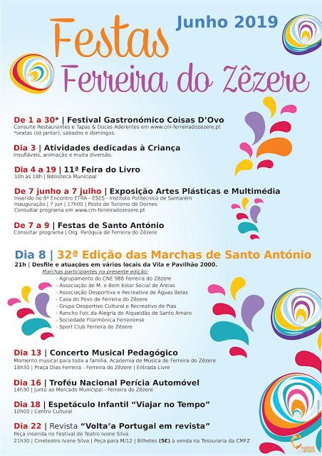 Marchas Populares de Santo António 2019 em Ferreira do Zêzere