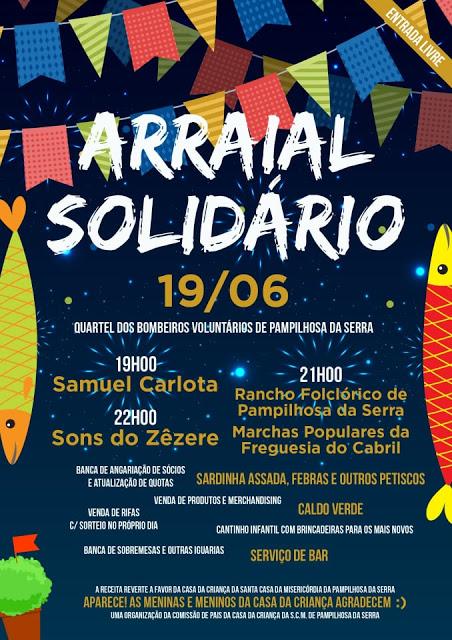 Pampilhosa da Serra | Pais da Casa da Criança da Santa da Misericórdia de Pampilhosa da Serra organizam Arraial Solidário.