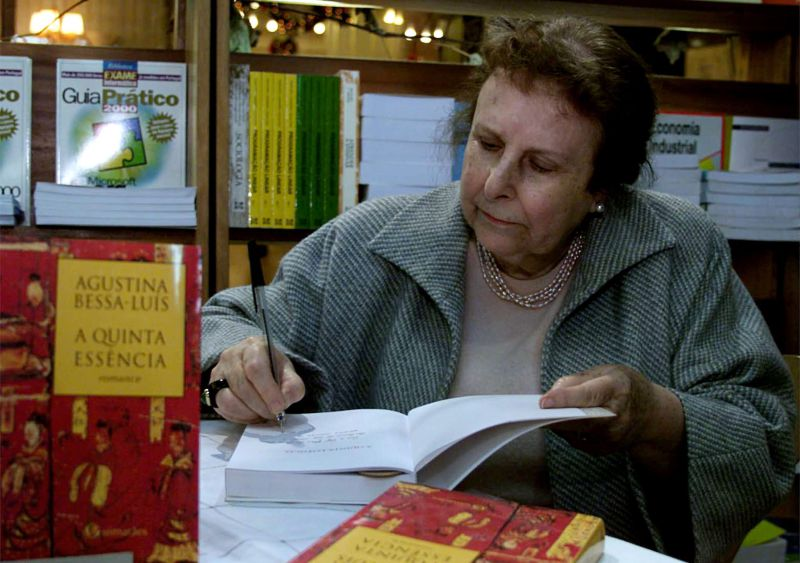 Morreu Agustina Bessa-Luís