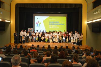 """Figueiró dos Vinhos recebeu o Concurso Intermunicipal de Ideias """"Empreendedorismo nas Escolas"""""""