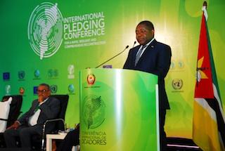 Moçambique | Doadores prometem apenas 1,2 dos 3,2 biliões de Dólares que Moçambique precisa para reconstrução pós ciclones