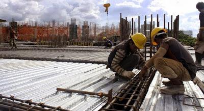 Há falta de profissionais no setor da Construção Civil