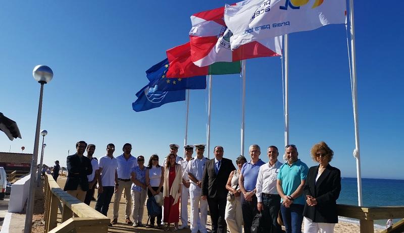 Algarve | Bandeiras Azuis hasteadas nas praias do concelho de Faro