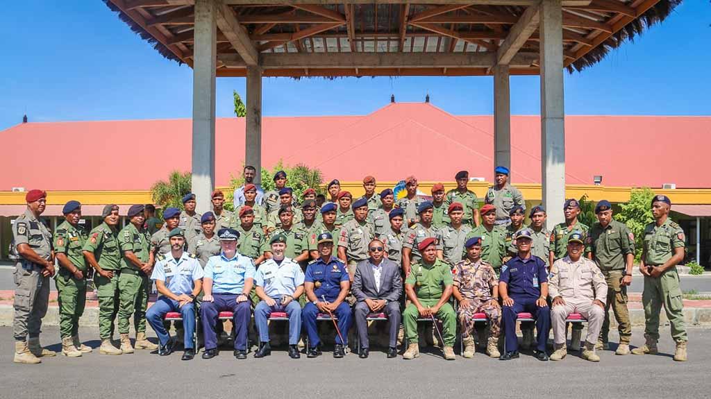 GNR forma agentes da Policia Nacional de Timor-Leste para Missões Internacionais