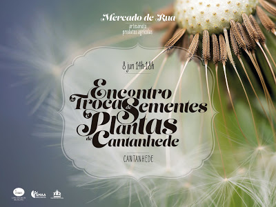 Sábado, 8 de junho, promovido pelo Município de Cantanhede Cantanhede recebe I Encontro de Troca de Sementes e Plantas autóctones