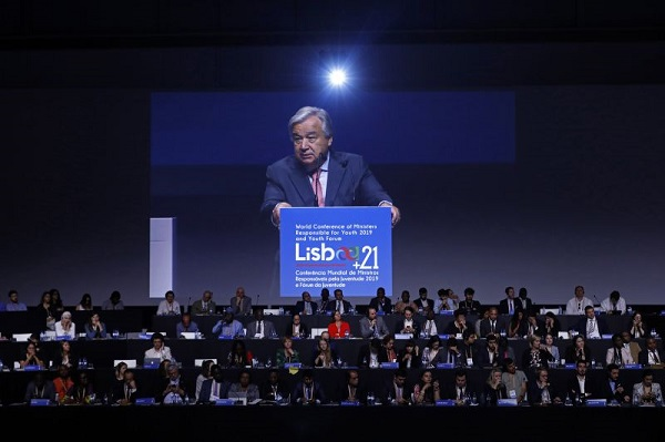 António Guterres reconhece que a sua geração falhou desafio da emergência climática