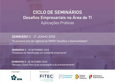 Instituto Pedro Nunes promove Seminário sobre o primeiro ano de vigência do Regulamento Geral de Proteção de Dados