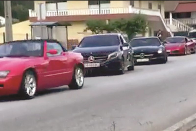 Polícia Judiciária apreendeu veículos de alta cilindrada