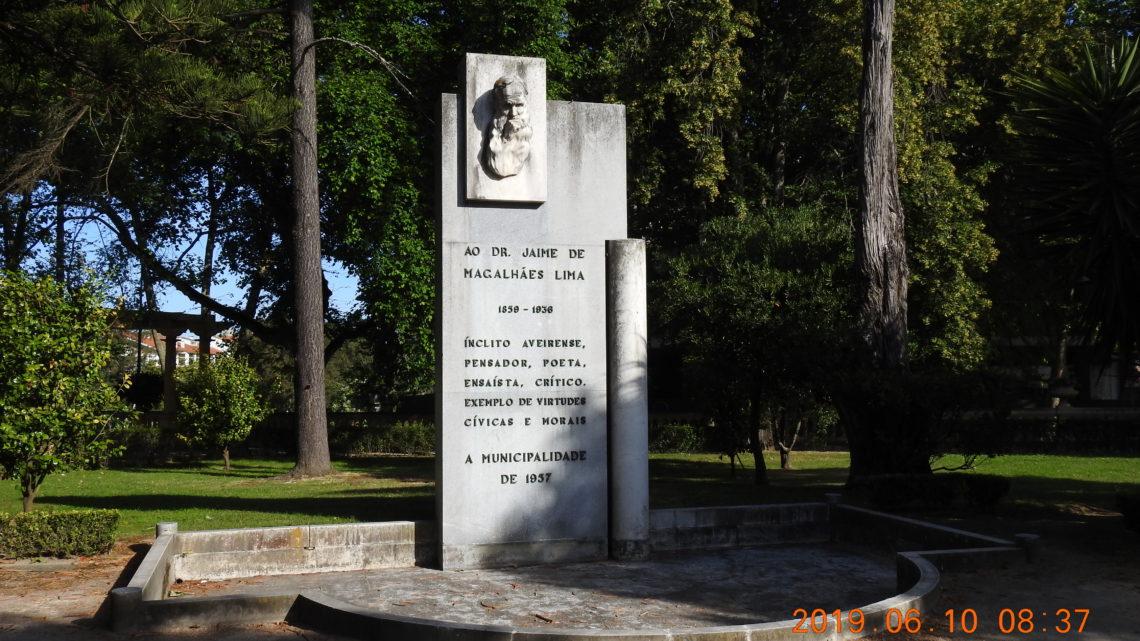 Aveiro | Monumento de Homenagem ao Dr. Jaime de Magalhães Lima