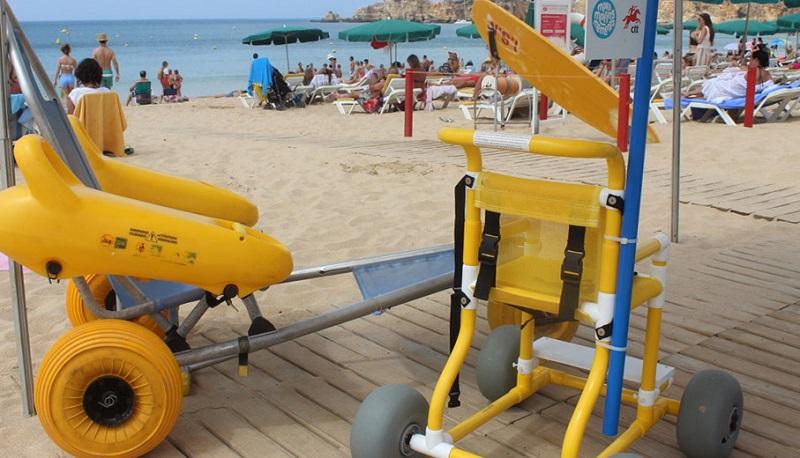 Portimão | Praia acessível para todos