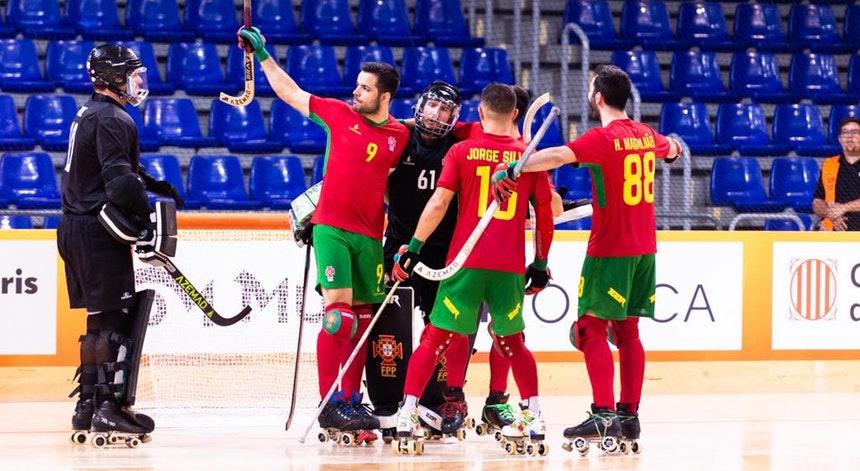 Hóquei. Portugal vence Espanha e joga final do mundial com a Argentina