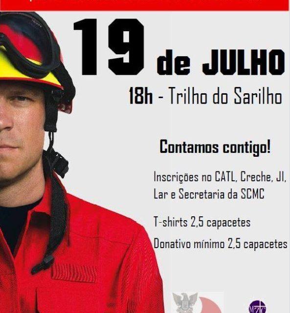 Trail Solidário para ajudar os Bombeiros Voluntários de Cantanhede