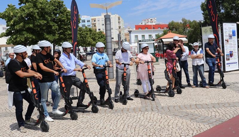 Algarve | Trotinetas elétricas chegaram a Portimão