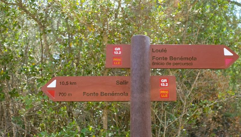 Loulé | Percursos pedestres da Rocha da Pena e Fonte Benémola foram homologados
