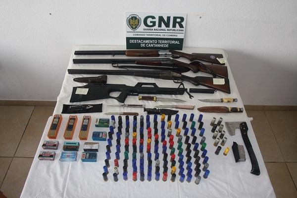 MIRA: Apreendidas 749 munições e 13 armas por violência doméstica e Carromeu