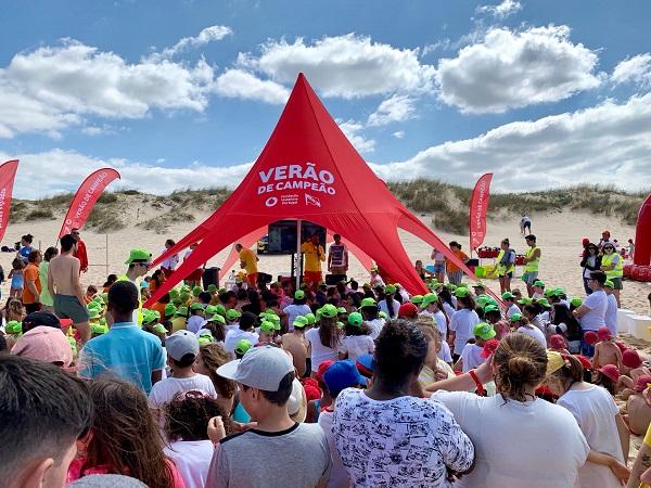 Fundação Vodafone sensibiliza crianças e jovens para cuidados a ter nas praias