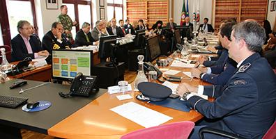 Reunião da Comissão Nacional de Proteção Civil