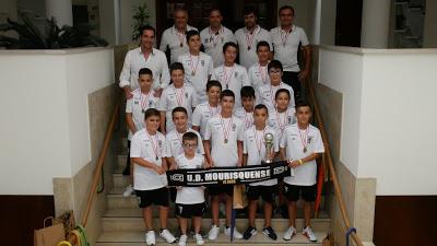 Desporto | UD Mourisquense campeão distrital de infantis em futebol