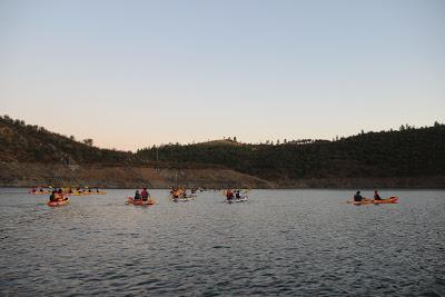Descida do rio Ocreza bate recorde de participantes