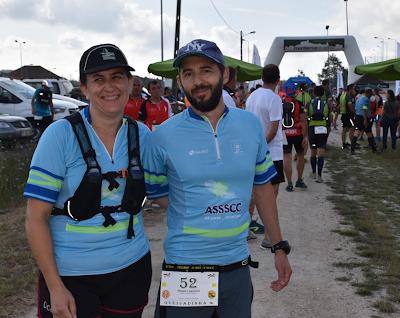 Desporto | ANABELA ALMEIDA E PEDRO CARDOSO DA SOCIEDADE COLUMBÓFILA PARTICIPARAM NO IITRAIL TRILHOS DO ARROZ DOCE