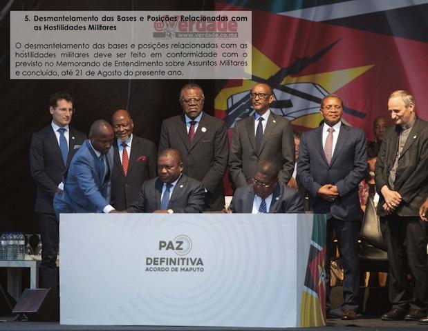 Mundo| Acordo de Paz e Reconciliação ainda não foi ratificado e já começou a ser violado em Moçambique