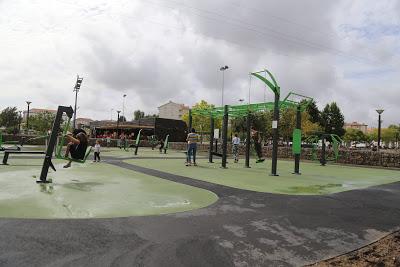 Estarreja | Novo ginásio ao ar livre no Parque do Antuã
