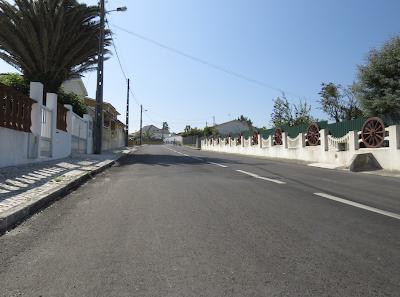 Marinha Grande   Rua do Mirante concluída