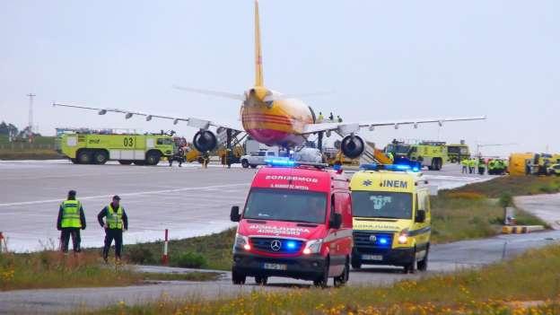Porto | Avião de carga aterrou de emergência no aeroporto do Porto