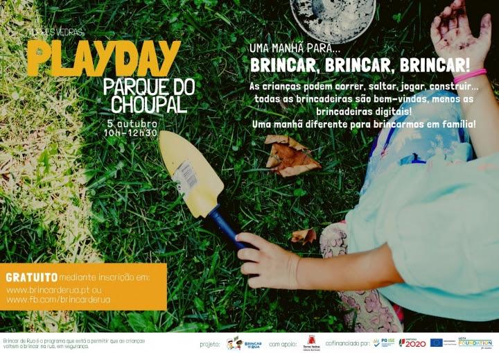 Torres Vedras | PROMETE MANHÃ DE BRINCADEIRA NO PARQUE DO CHOUPAL